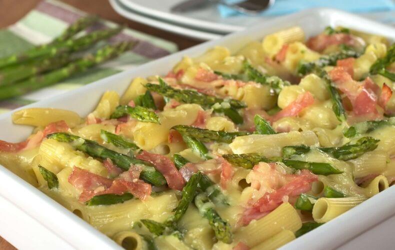 Ricetta Pasta Al Forno Con Asparagi Prosciutto Crudo E Formaggio