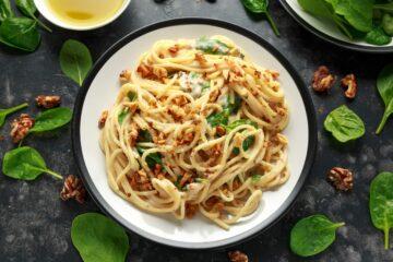 Ricetta Pasta Gorgonzola E Noci
