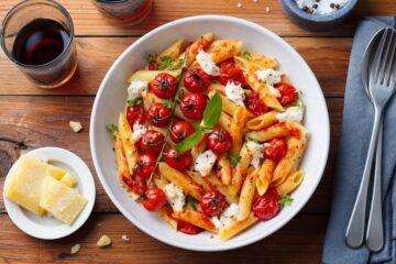 Ricetta Penne Con Pomodorini E Burrata