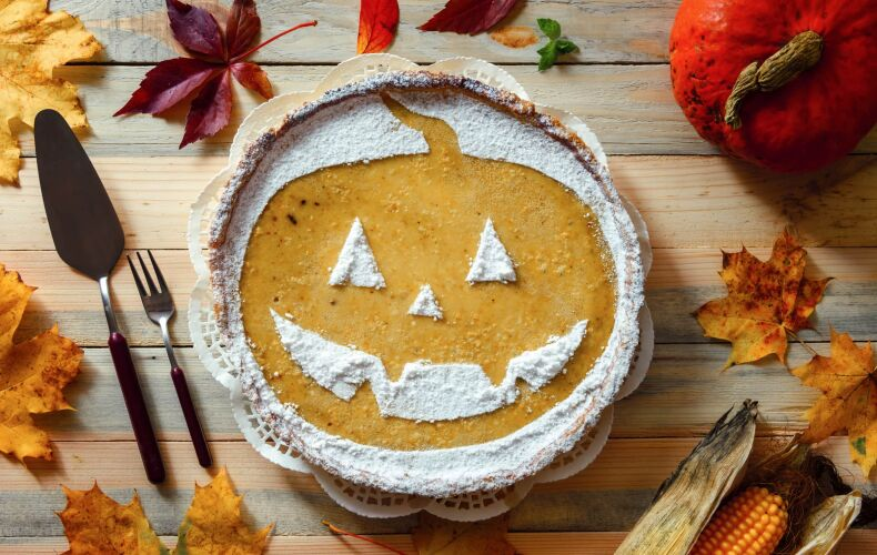 Ricetta Pumpkin Pie Di Halloween