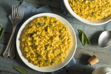 Ricetta Risotto Con Zucca E Salvia