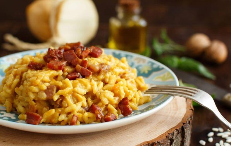 Ricetta Risotto Zucca E Pancetta