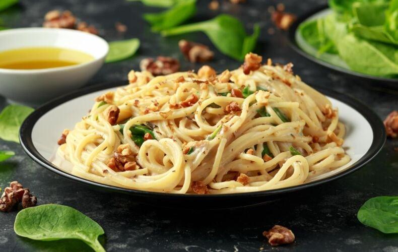 Ricetta Spaghetti Gorgonzola E Noci