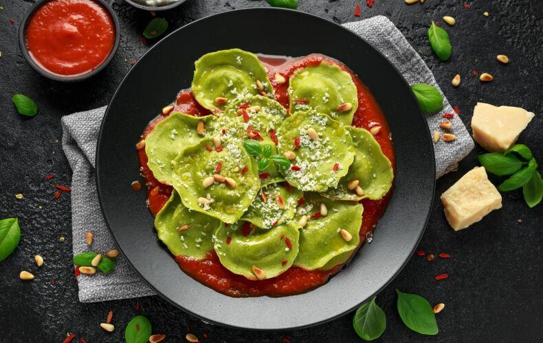 Ricetta Tortelli Verdi Con Ricotta E Parmigiano