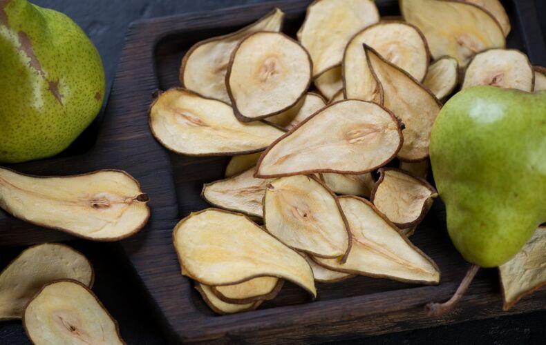 Ricetta Chips Di Pere Al Forno