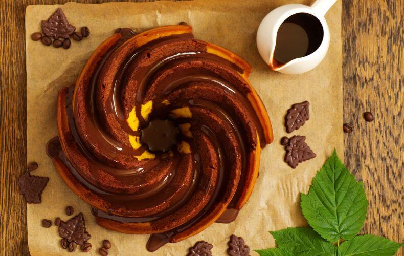 Ricetta Ciambella Zucca Cioccolato