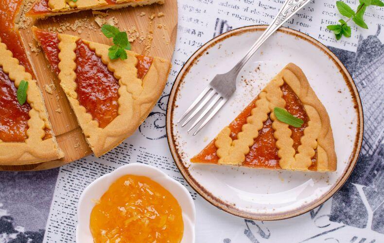 Ricetta Crostata Alla Marmellata Di Cachi