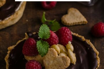 Ricetta Crostatine Al Cioccolato E Lamponi