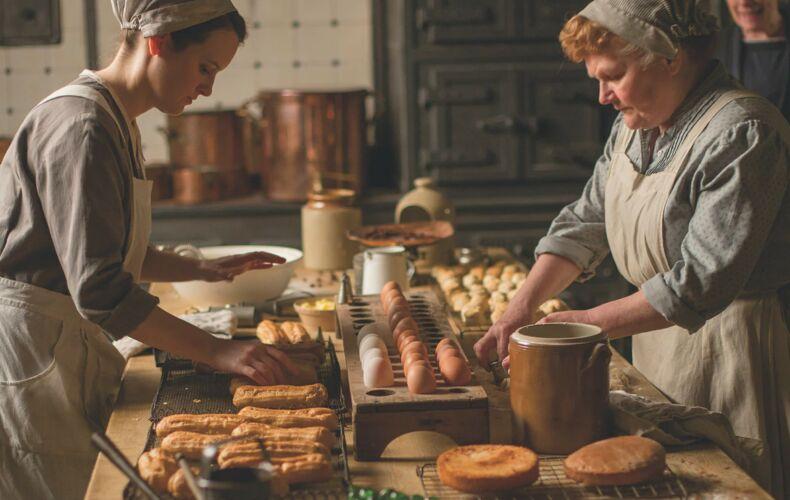 Downton Abbey Cucina