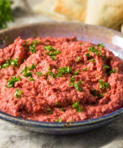 Ricetta Hummus Di Barbabietola