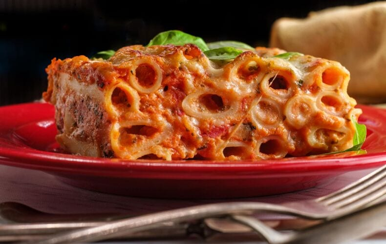 Ricetta Lasagna Di Ziti