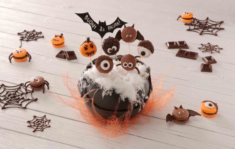 Ricetta Macarons Halloween