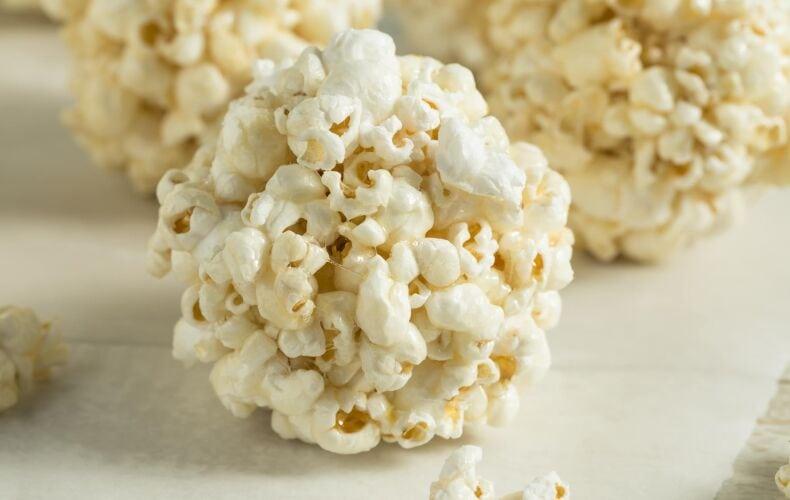 Ricetta Palline Dolci Di Pop Corn