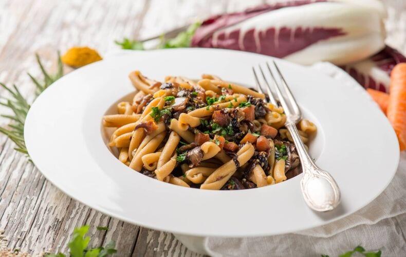 Ricetta Pasta Al Radicchio E Zucca