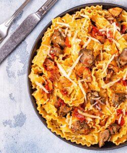 Ricetta Pasta Con Fegatini Di Pollo