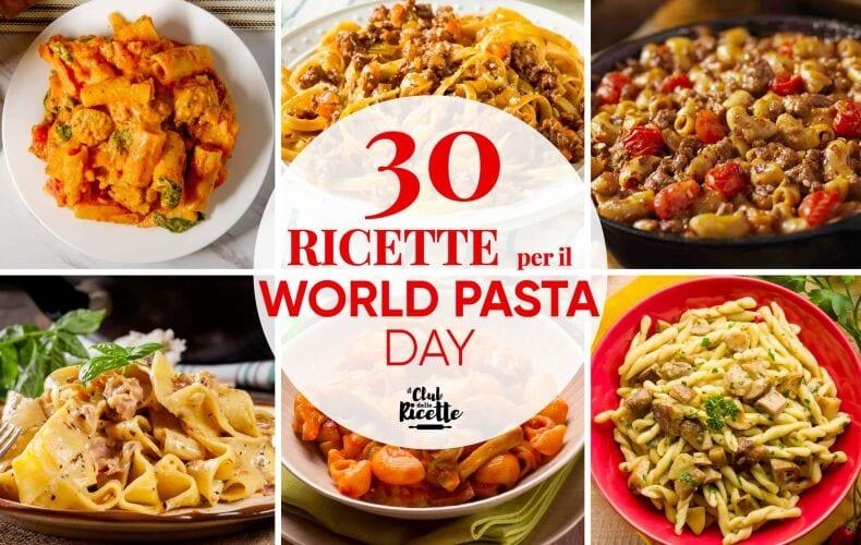Ricette Per World Pasta Day