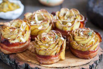 Ricetta Rose Di Patate E Bacon Al Forno