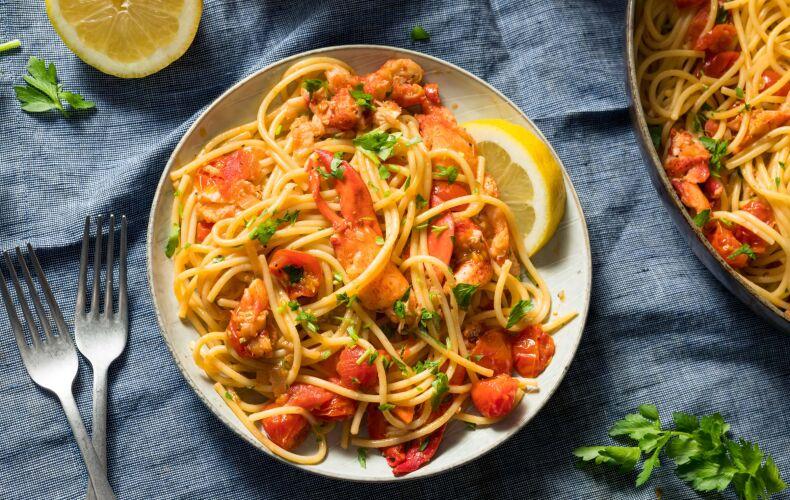 Ricetta Spaghetti Astice