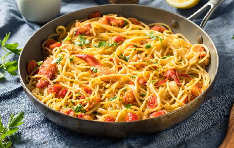 Ricetta Spaghetti Con Astice