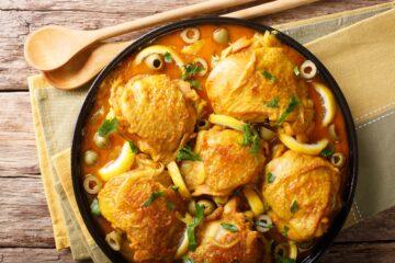 Ricetta Tajine Di Pollo Ai Limoni E Olive