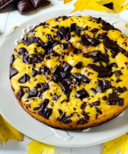 Ricetta Torta Alla Zucca Con Pezzi Di Cioccolato