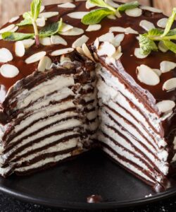 Ricetta Torta Di Crepes Al Cioccolato