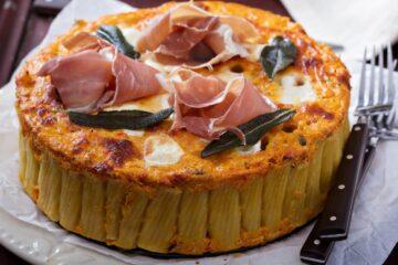Ricetta Torta Di Paccheri Al Forno