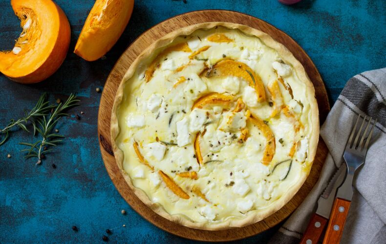 Ricetta Torta Salata Alla Zucca E Formaggi