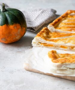 Ricetta Torta Salata Zucca Amaretti Ed Emmentaler