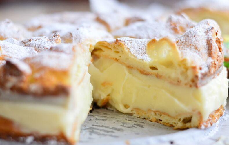 Ricetta Torta Velocissima Sfoglia E Crema