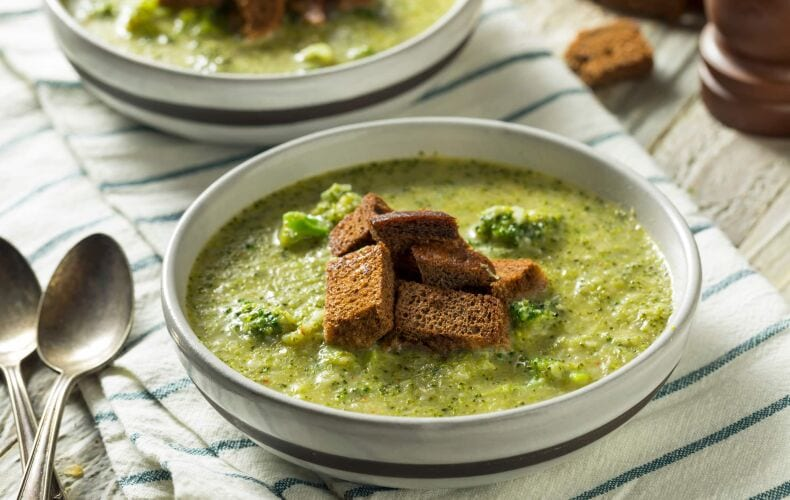 Ricetta Zuppa Ai Broccoli