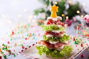 Ricetta Alberelli Tramezzini Antipasto Natale