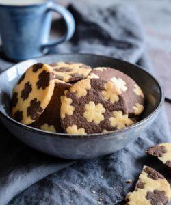 Biscotti Bicolore Vaniglia Cioccolato