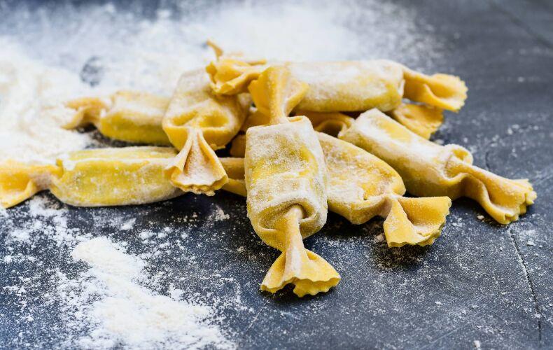 Caramelle Ricotta E Spinaci Infarinati