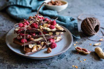 Chocolate Bark Scaglie Cioccolato Frutti Bosco