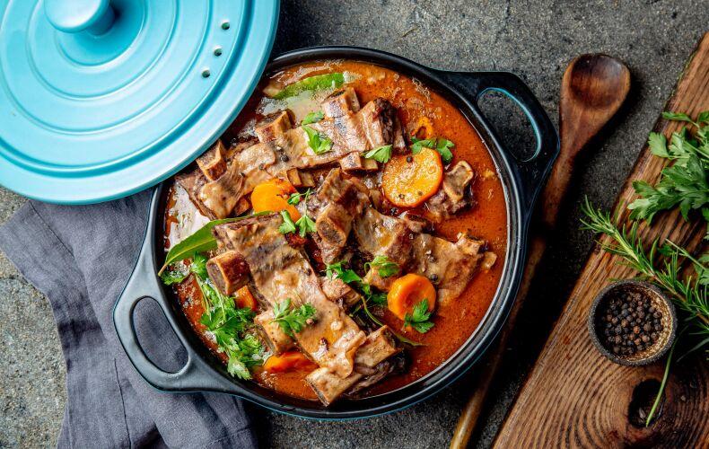 Ricetta Costolette Manzo In Umido