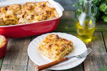 Lasagne Con Ragu Di Carne E Cavolo