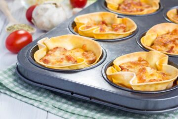 Ricetta Mini Lasagne Cupcake Teglia