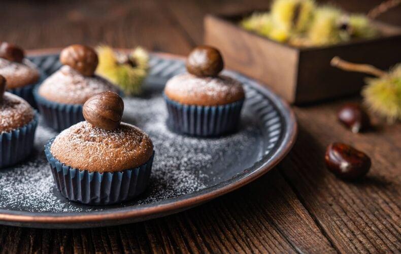 Ricetta Muffin Castagne E Cioccolato
