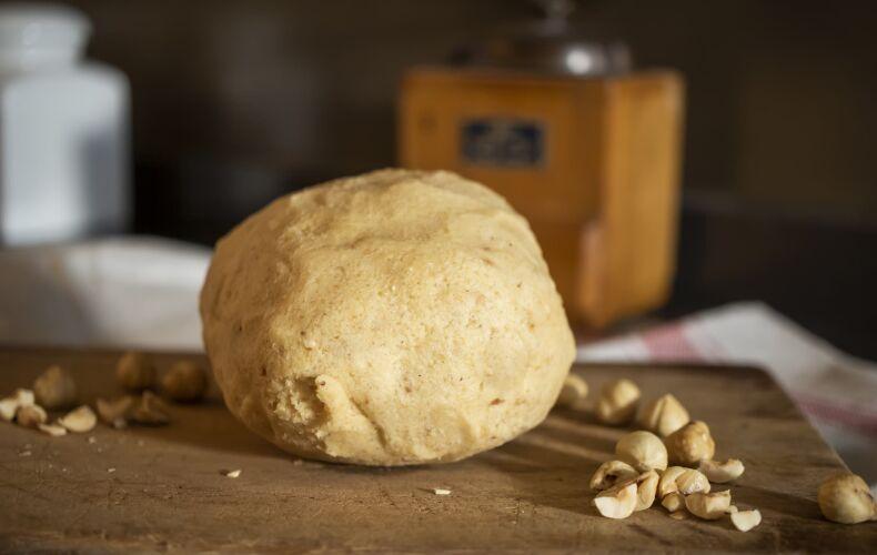 Pasta Frolla Nocciole Laterale