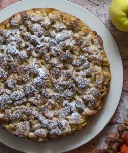 Torta Mele Crumble