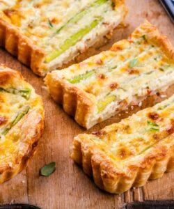 Ricetta Torta Salata Asparagi Parmigiano