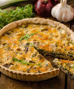Ricetta Torta Salata Ricotta E Funghi