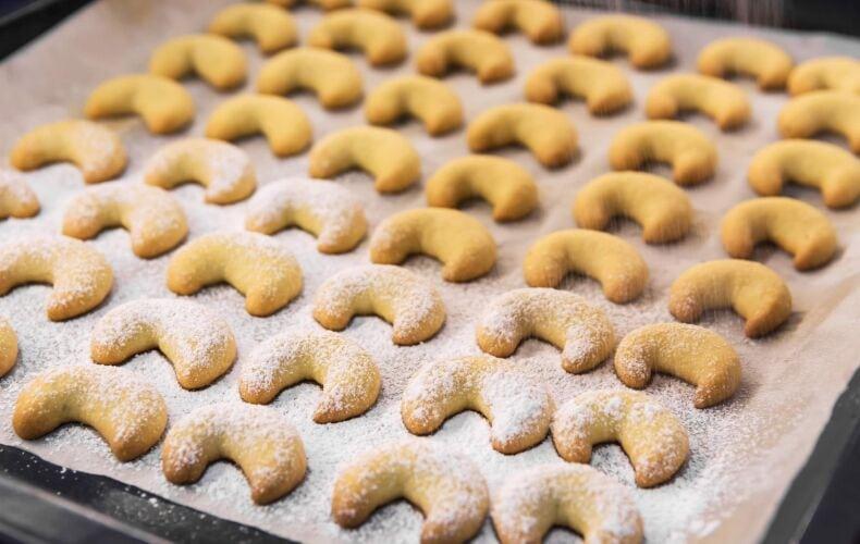 Ricetta Vanillekipferl Cornetti Alla Vaniglia Teglia