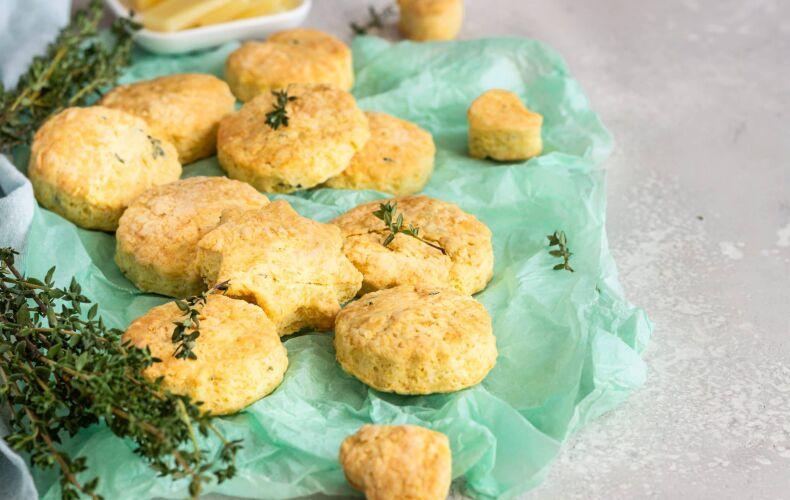 Ricetta Biscotti Salati Al Timo