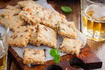 Ricetta Biscotti Salati Alle Cipolle