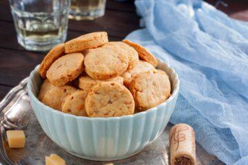 Ricetta Biscotti Salati Peperoni E Pancetta