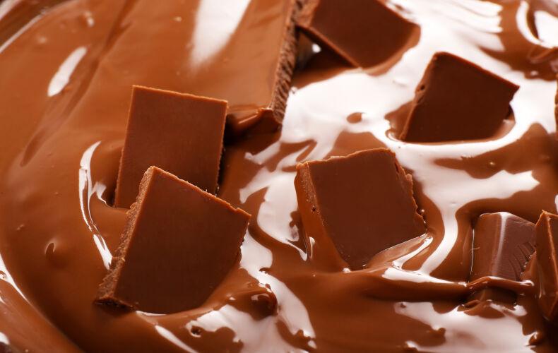 Cioccolato Che Si Scioglie