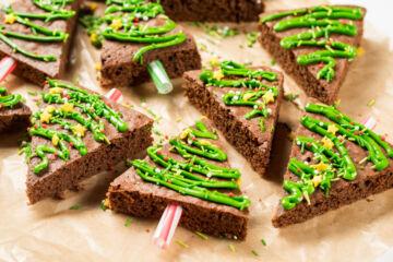 Ricetta Brownies Alberelli Di Natale