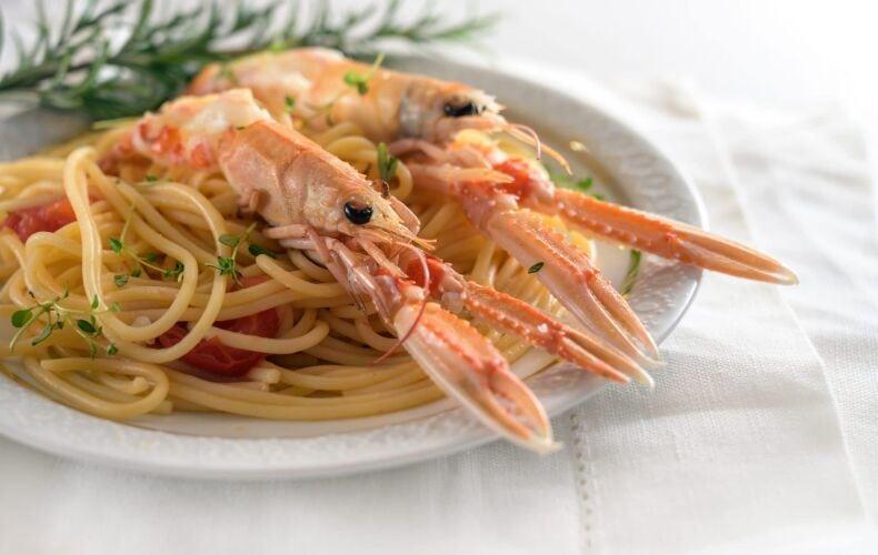 Ricetta Spaghetti Agli Scampi